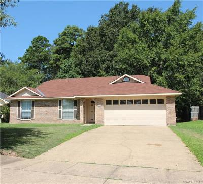 Caddo Parish Single Family Home For Sale: 9448 Crooked Creek Drive