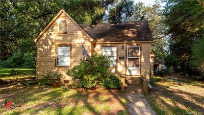 Webster Parish Single Family Home For Sale: 606 2nd Street NW
