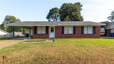 Webster Parish Single Family Home For Sale: 800 Herrington Drive