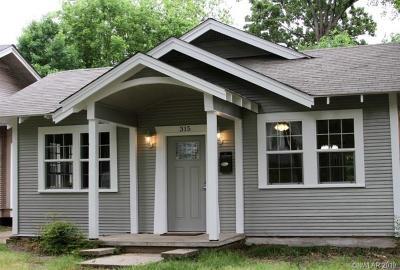 Caddo Parish Single Family Home For Sale: 315 Washington Street