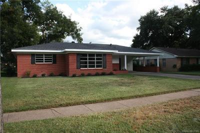 Shreveport Single Family Home For Sale: 1221 E Washington Street