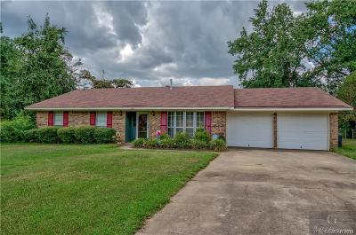 Haughton Single Family Home For Sale: 3129 Deerfield Drive