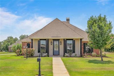 Bossier Parish Single Family Home For Sale: 601 Aubrey Walk