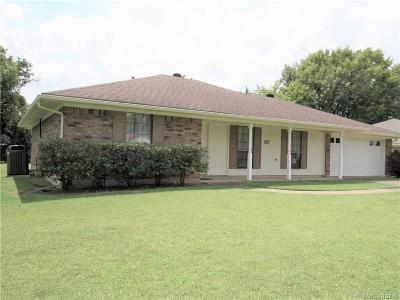 Bossier City Single Family Home For Sale: 2612 Brown Street