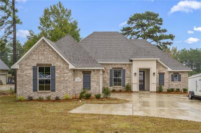 Haughton Single Family Home For Sale: 2063 Highpoint Place