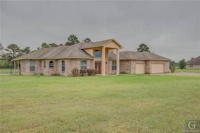 Keithville Single Family Home For Sale: 12125 Amanda Lane