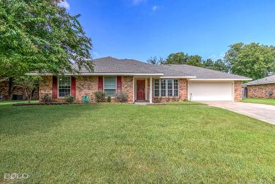Bossier City Single Family Home For Sale: 5409 Bayou Drive