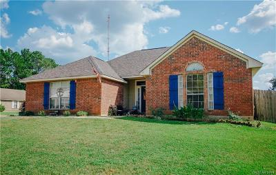 Haughton Single Family Home For Sale: 7601 Redwood Court