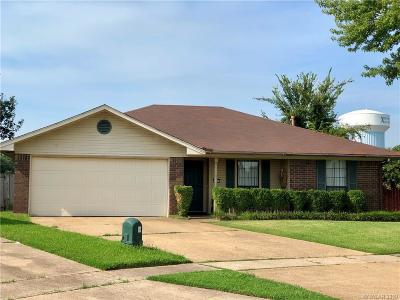 Bossier City Single Family Home For Sale: 5204 Lauri Lane
