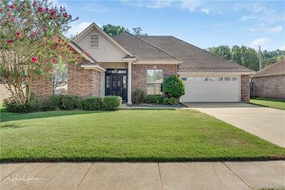 Bossier City Single Family Home For Sale: 3003 Pleasant Grove