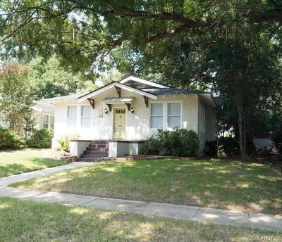 Shreveport Single Family Home For Sale: 418 Gladstone Boulevard