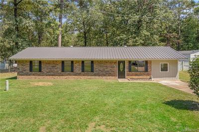 Benton Single Family Home For Sale: 198 Seven Pines Road