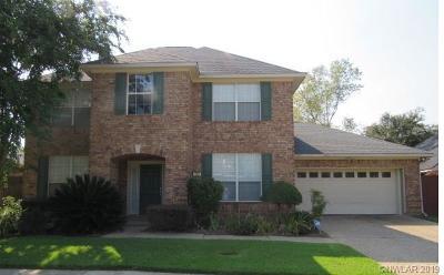 Shreveport Single Family Home For Sale: 139 Hallette Drive