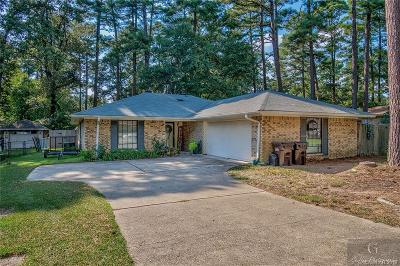Haughton Single Family Home For Sale: 3303 Pine Haven Lane