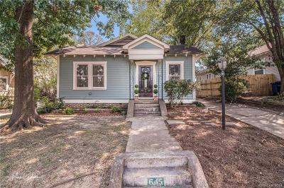 Shreveport Single Family Home For Sale: 645 Gladstone Boulevard