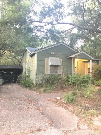 Shreveport Single Family Home For Sale: 633 West 74