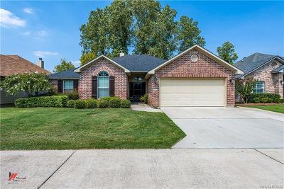 Shreveport Single Family Home For Sale: 182 Clear Brooke Drive