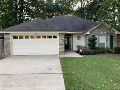 Haughton Single Family Home For Sale: 3708 Shadow Bend Drive