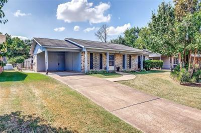 Bossier City Single Family Home For Sale: 4714 Sheryl Street
