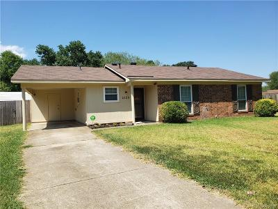 Bossier City Single Family Home For Sale: 2123 General Rusk Lane