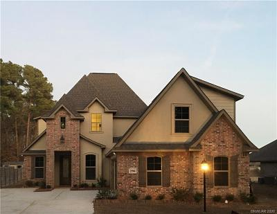 Haughton Single Family Home For Sale: 2596 Southcrest
