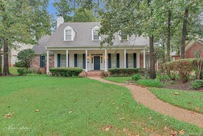 Shreveport Single Family Home For Sale: 10865 Longfellow Trace