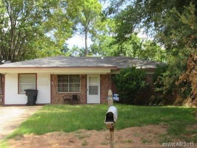 Bossier City Single Family Home For Sale: 4825 Sullivan Street
