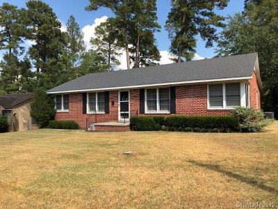 Homer LA Single Family Home For Sale: $138,000