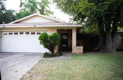 Shreveport LA Single Family Home For Sale: $130,000