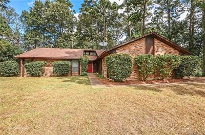 Haughton LA Single Family Home For Sale: $165,000