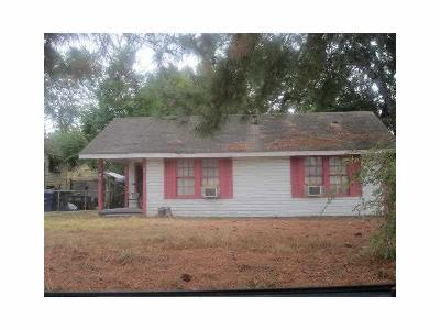 Shreveport LA Single Family Home: $45,000