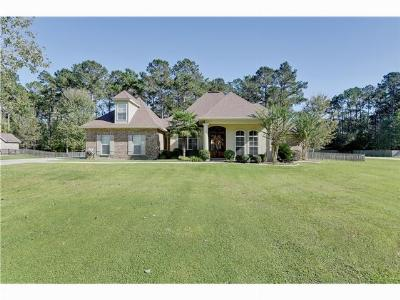 Madisonville LA Single Family Home SOLD: $329,500