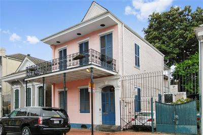 French Quarter Single Family Home For Sale: 823 Orleans Avenue
