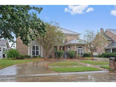 Kenner Single Family Home For Sale: 2712 Gay Lynn Drive