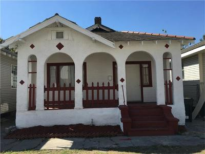 New Orleans Single Family Home For Sale: 8716 Spruce Street