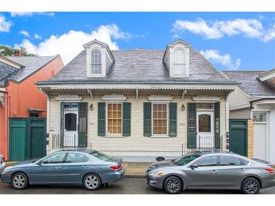 French Quarter Multi Family Home Pending Continue to Show: 931-935 Dauphine Street