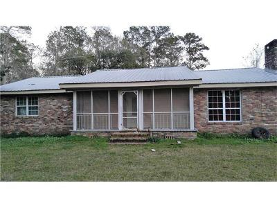 Mandeville Single Family Home For Sale: 1103 Wilkinson Street