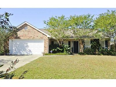 Slidell Single Family Home For Sale: 3113 E Meadow Lake Drive