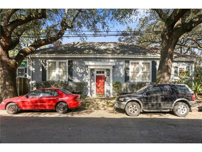 New Orleans Multi Family Home For Sale: 7101 Hickory Street