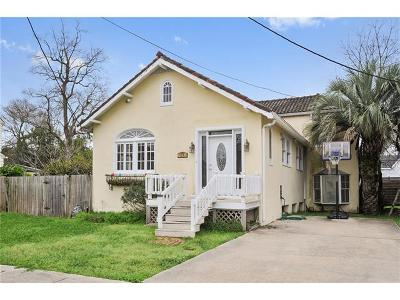 New Orleans LA Single Family Home For Sale: $269,000