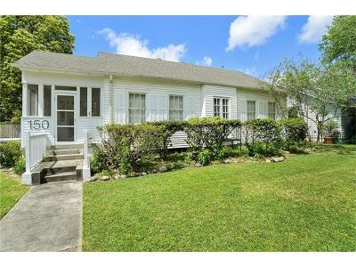Metairie Single Family Home For Sale: 150 Lake Avenue