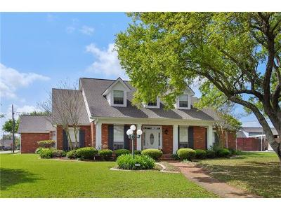 Marrero Single Family Home For Sale: 2632 Cedarlawn Drive