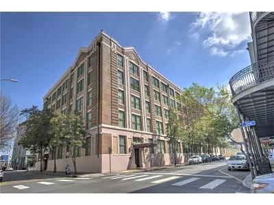 New Orleans Condo For Sale: 700 S Peters Street #416
