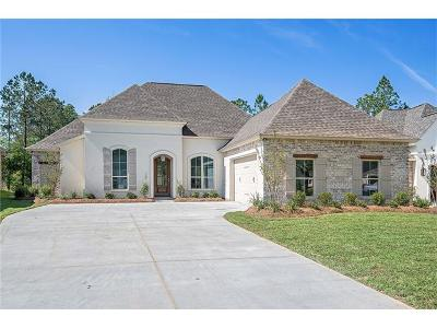 Madisonville Single Family Home For Sale: 1129 Cypress Crossing Drive