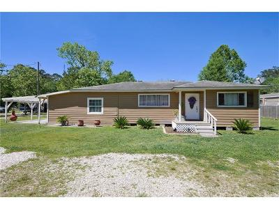 Madisonville Single Family Home Pending Continue to Show: 230 Galatas Road
