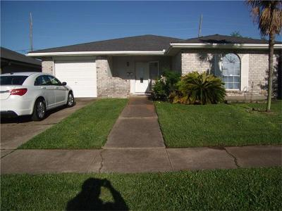 Kenner Single Family Home For Sale: 3672 W Loyola Drive