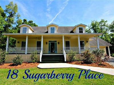 Single Family Home For Sale: 18 Sugarberry Place