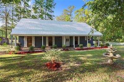 Covington Single Family Home For Sale: 73603 Penn Mill Road