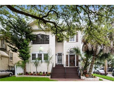 New Orleans LA Single Family Home For Sale: $775,000