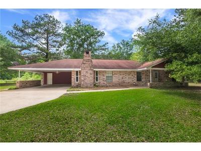 Madisonville Single Family Home For Sale: 596 Hwy 1085